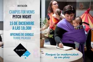 Pitch NIgth, Campus for Moms Google
