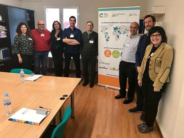 Formación de mentores en YBS Youth Business Spain Aragón en 2016